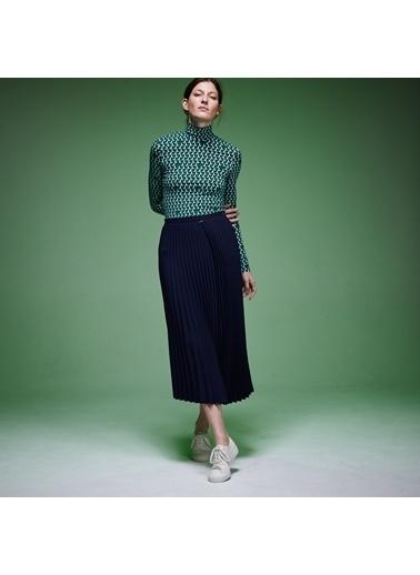 Lacoste Kadın Fashion Show Asimetrik Etek JF4276.166 Lacivert